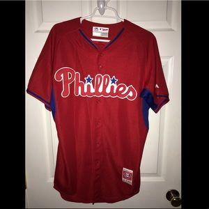 Philadelphia Phillies majestic jersey cool base